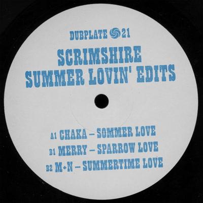"Scrimshire/SUMMER LOVIN' EDITS 12"""