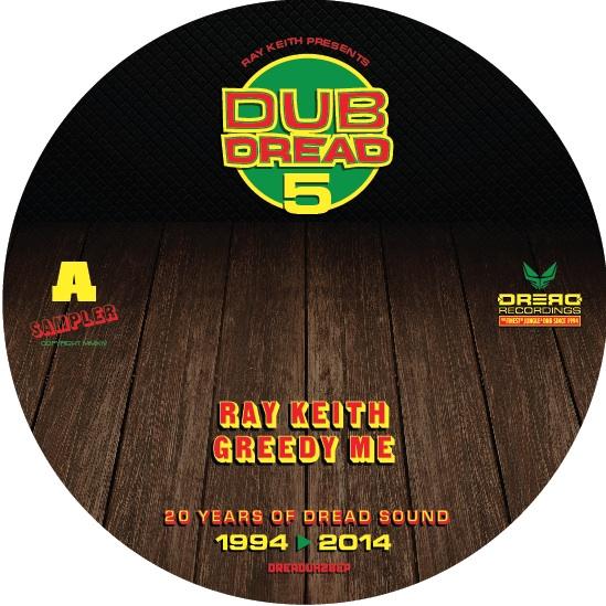"""Ray Keith/DUB DREAD 5 SAMPLER D12"""" + CD"""