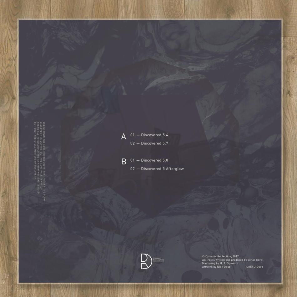 "Jonas Korbl/DISCOVERED 5 12"""