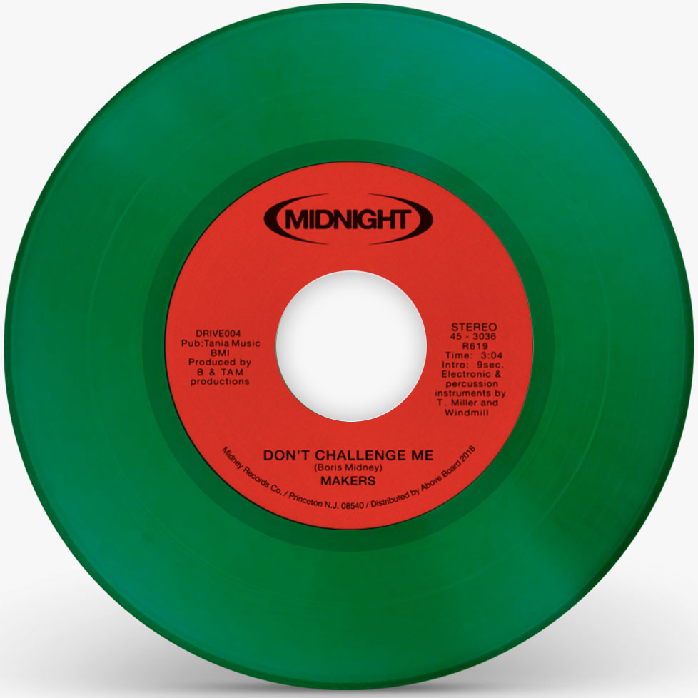 Makers/DON'T CHALLENGE ME (GREEN) 7""