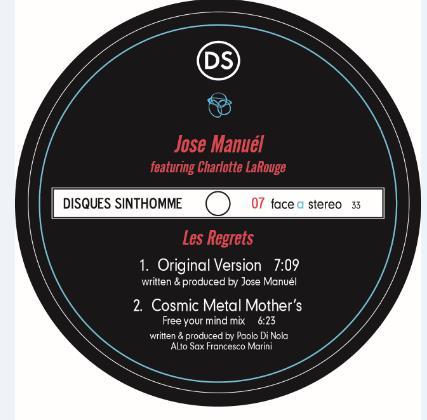 """Jose Manuel/LES REGRETS REMIXES 12"""""""