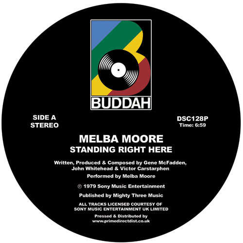 Melba Moore/STANDING RIGHT HERE 12""