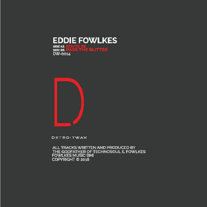 "Eddie Fowlkes/TECHNO SOUL VOL. 2 12"""