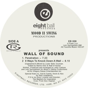 "Mood II Swing/PRESENTS WALL OF SOUND 12"""