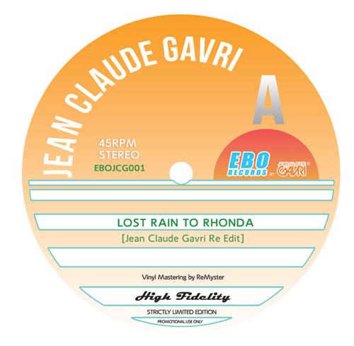 """Jean Claude Gavri/LOST RAIN... 12"""""""
