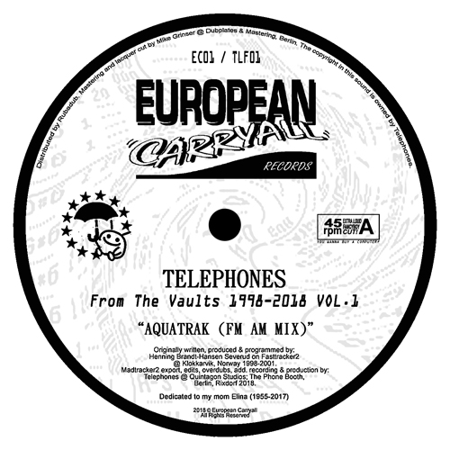 """Telephones/FROM THE VAULTS VOL. 1 12"""""""