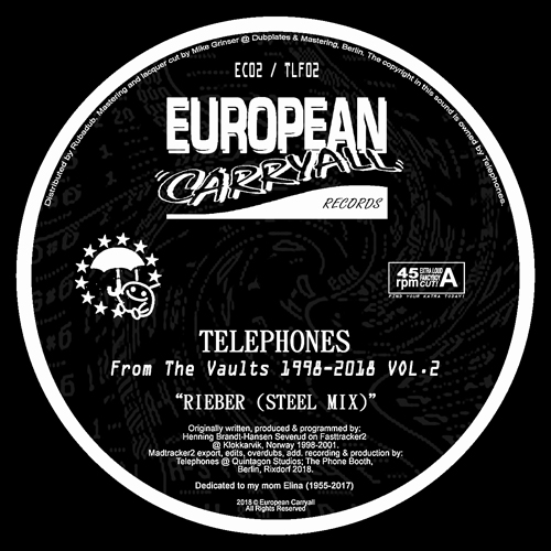 """Telephones/FROM THE VAULTS VOL. 2 12"""""""