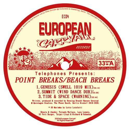 """Telephones/POINT BREAKS EP 12"""""""