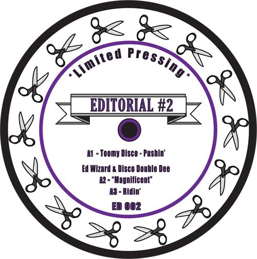 "Various/EDITORIAL #2 12"""