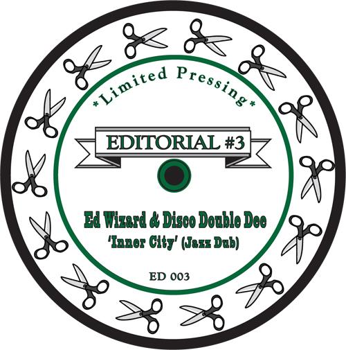 "Various/EDITORIAL #3 12"""