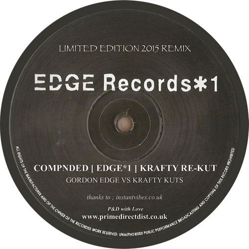 "Gordon Edge/COMPNDED (KRAFTY RE-KUT) 12"""