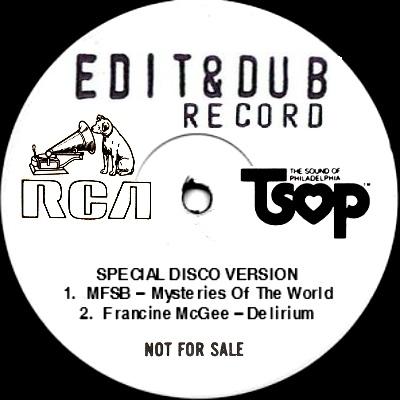 "Edit & Dub/#3 NYC 1980 12"""