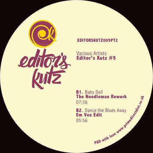 """Editors Kutz/VOL. 5 - PT. 2 12"""""""