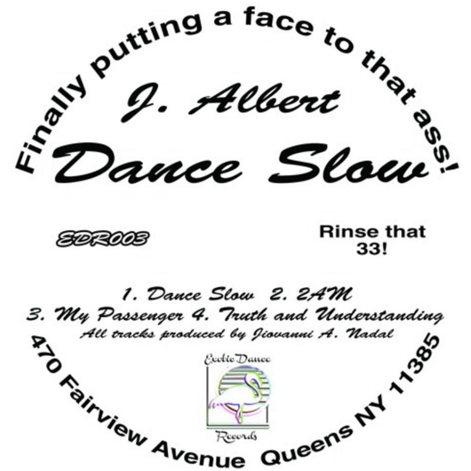 """J. Albert/DANCE SLOW 12"""""""