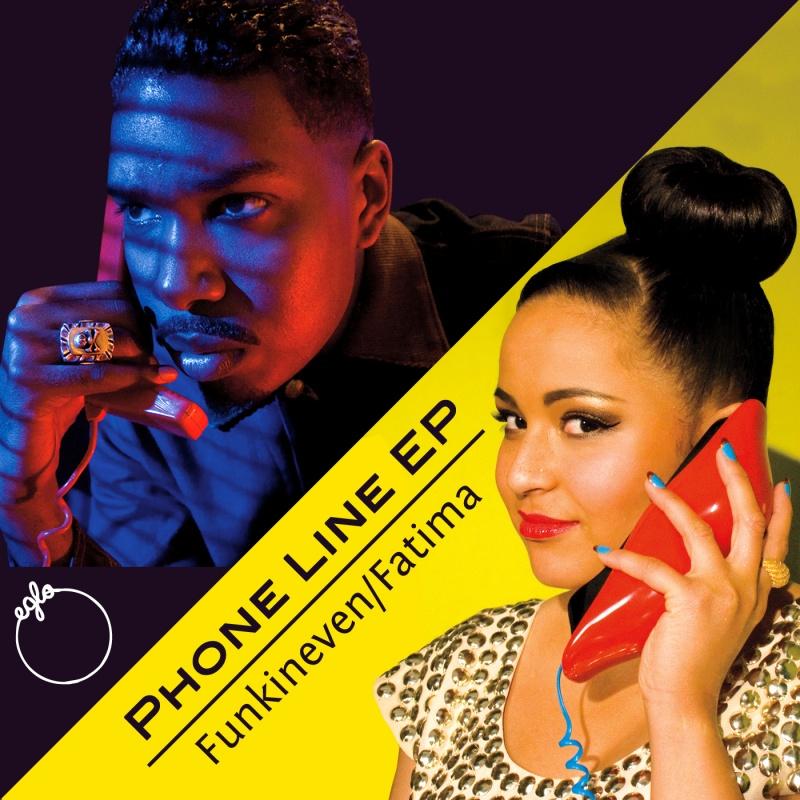 "Funkineven & Fatima/PHONELINE  12"""