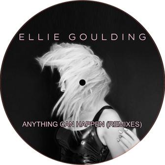 "Ellie Goulding/ANYTHING COULD HAPPEN 12"""