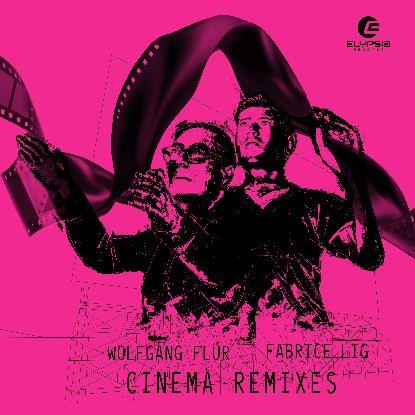 """Wolfgang Flur & F. Lig/CINEMA RMX'S 12"""""""