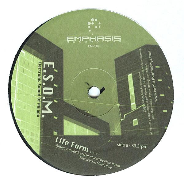 """E.S.O.M./LIFE FORM 12"""""""