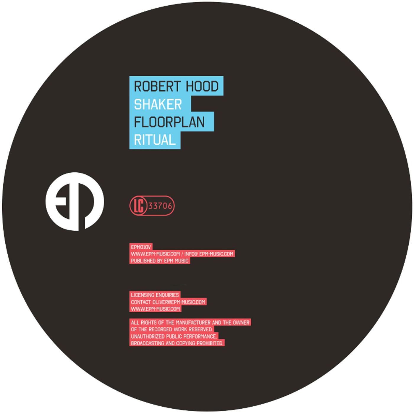 "Robert Hood/SHAKER 12"""