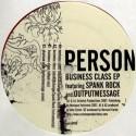 "Person/BUSINESS CLASS SPANK ROCK RMX 12"""