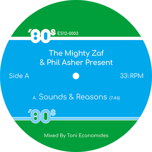 Mighty Zaf & Phil Asher/80s EDITS V3 12""