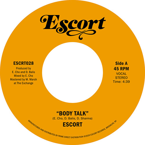 "Escort/BODY TALK 7"""