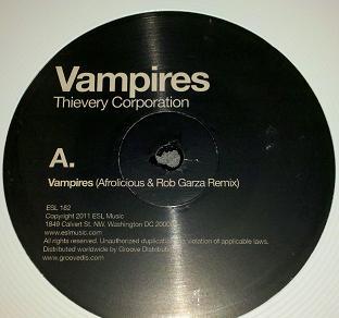 "Thievery Corp/VAMPIRES EP 12"""