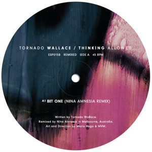"Tornado Wallace/THINKING ALLOWED RMX 12"""