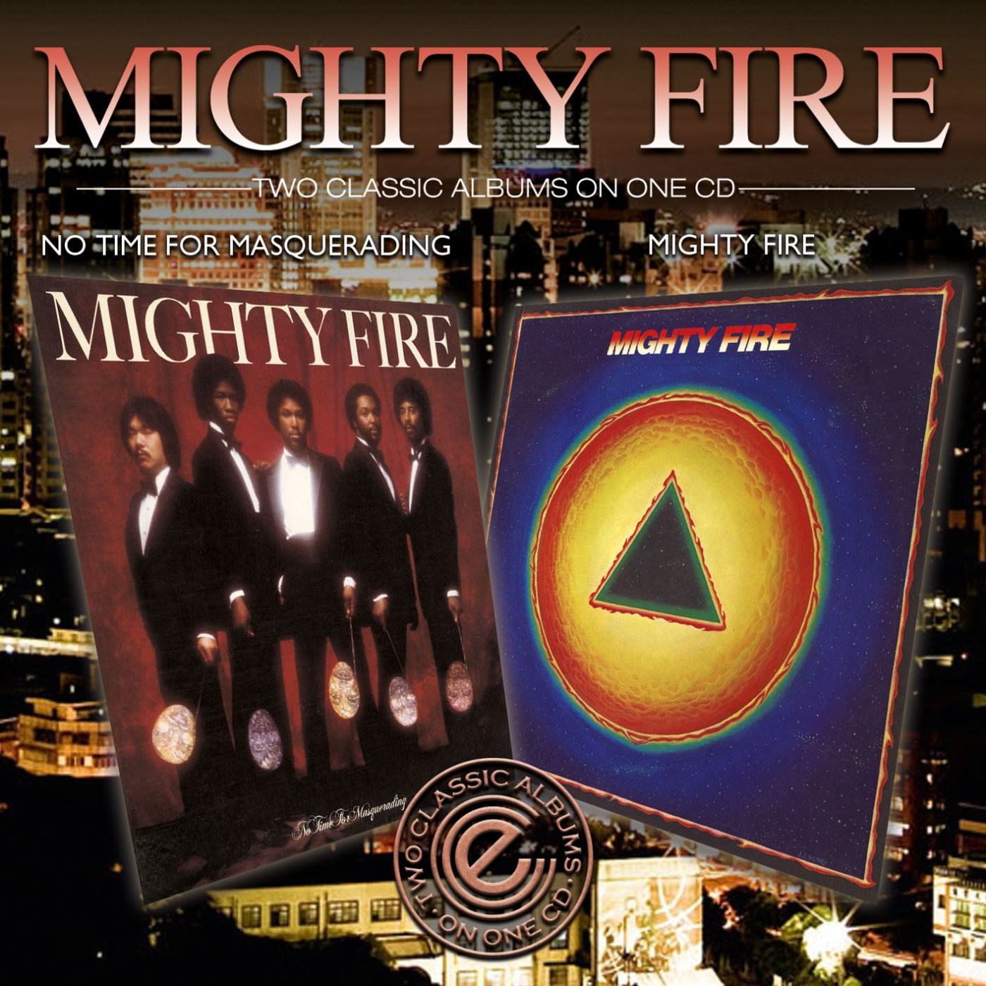 Mighty Fire/MIGHTY FIRE & NO TIME CD