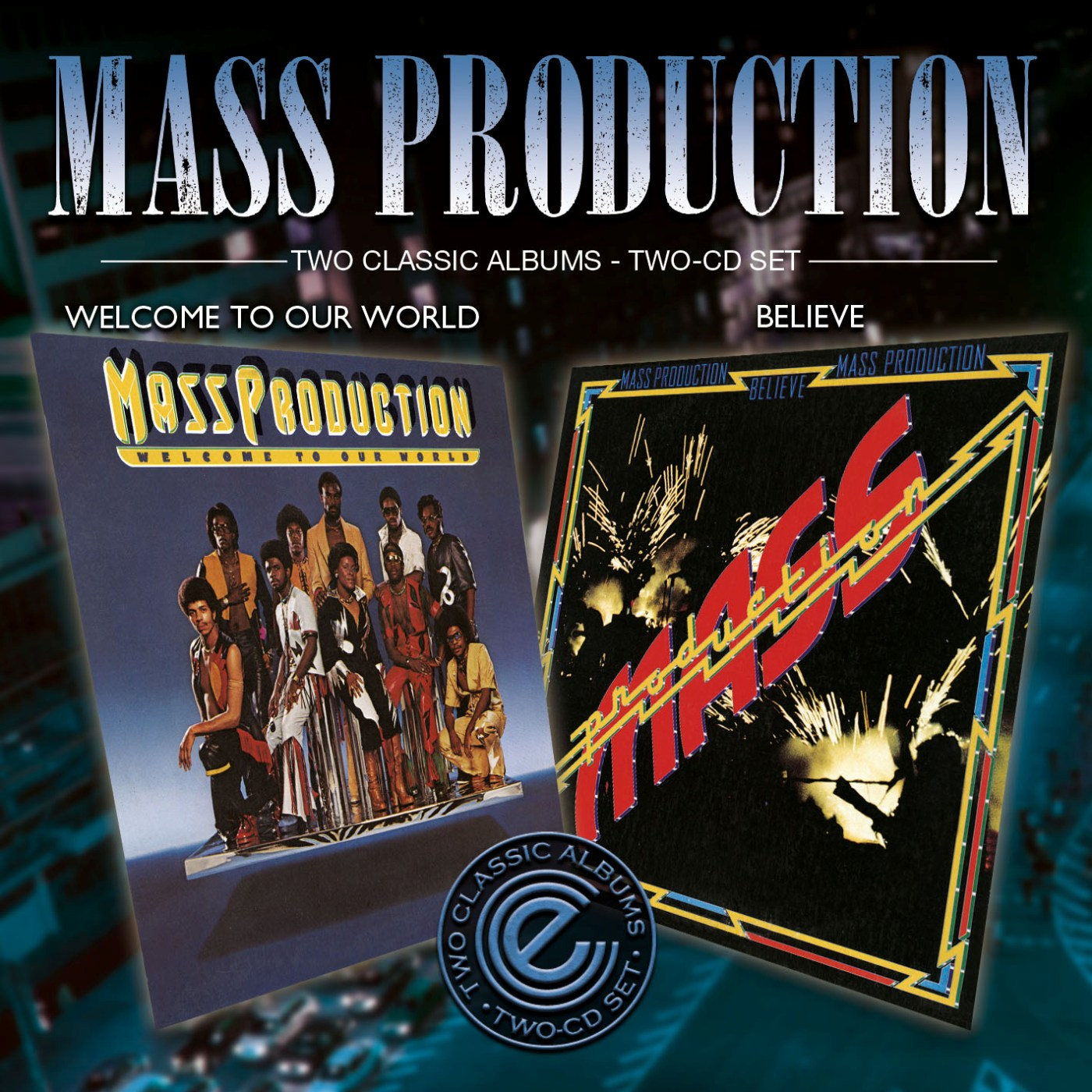 Mass Production/WELCOME & BELIEVE DCD
