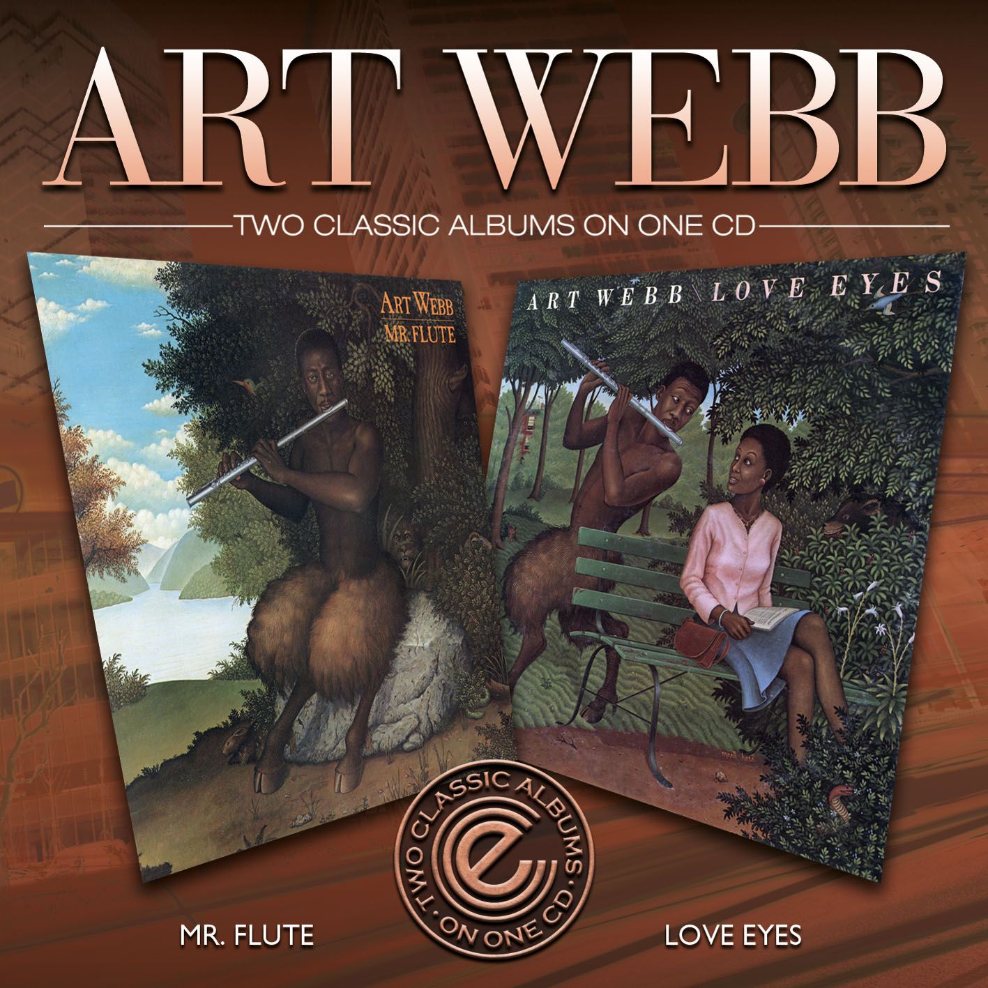 Art Webb/MR FLUTE & LOVE EYES CD