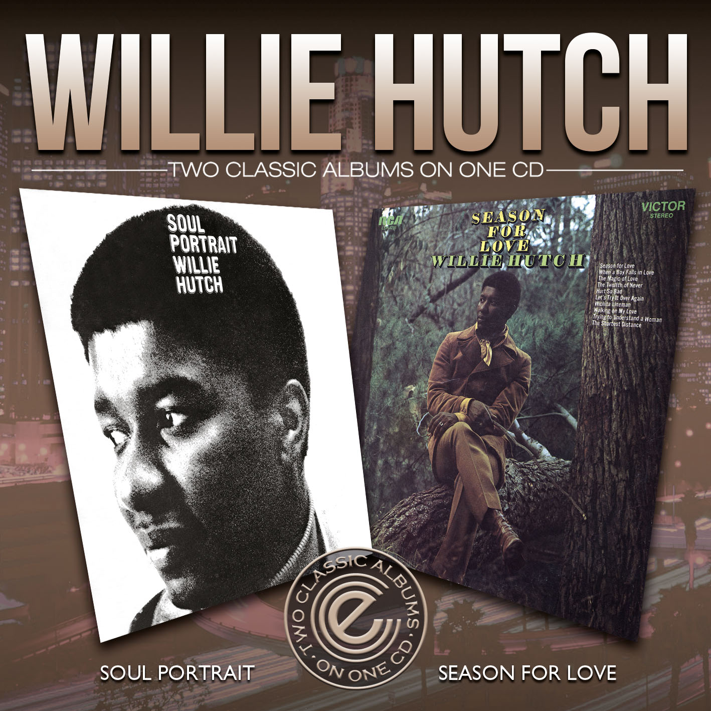 Willie Hutch/SOUL PORTRAIT & SEASON CD