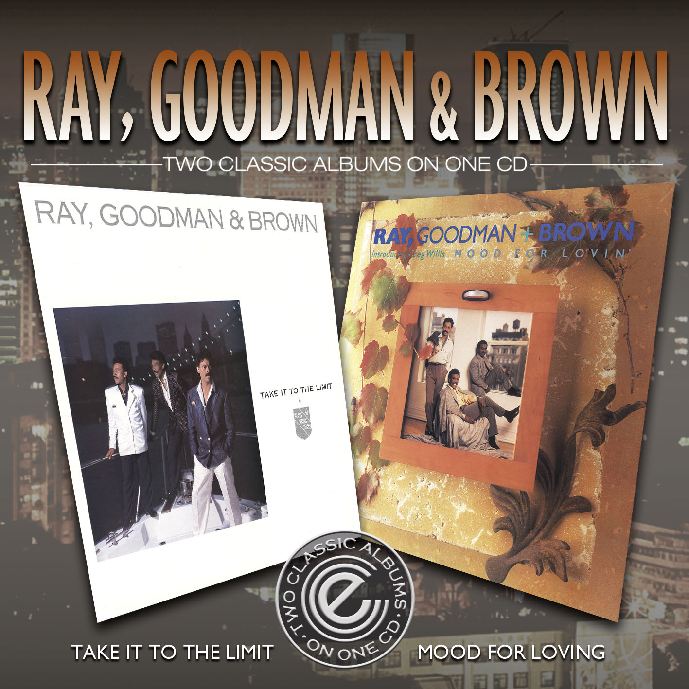 Ray, Goodman & Brown/TAKE IT & MOOD CD