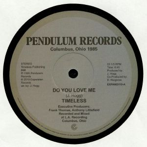 "Timeless Legend/DO YOU LOVE ME 12"""