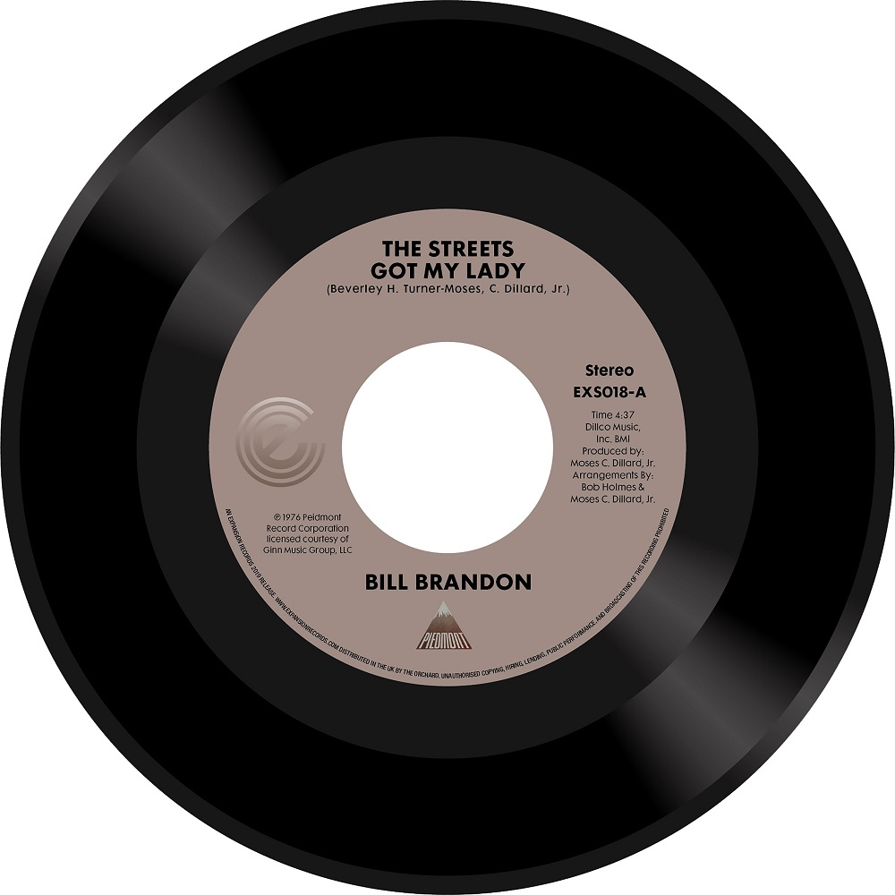 Bill Brandon/THE STREETS GOT MY LADY 7""