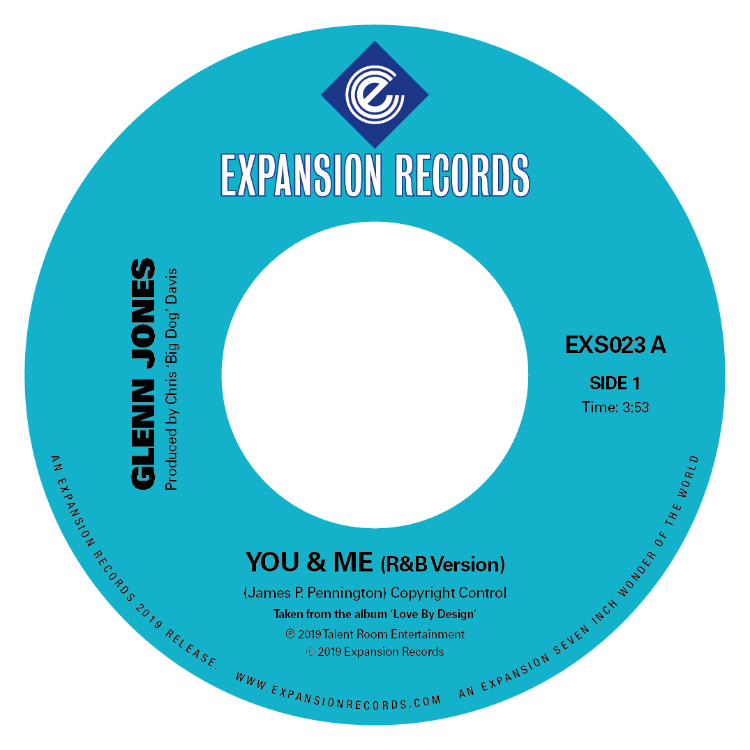 Glenn Jones/YOU & ME 7""