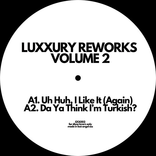 Luxxury/REWORKS VOL. 2 12""