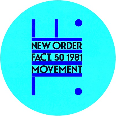 New Order/MOVEMENT ALBUM SLIPMAT