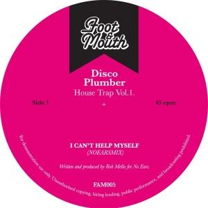 "Disco Plumber/HOUSE TRAP VOL. 1 12"""