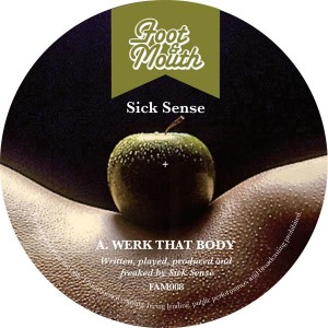 "Sick Sence/WERK THAT BODY 12"""