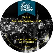 """S.A.S./ARE YOU SATISFIED EP 12"""""""
