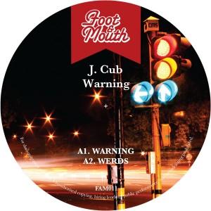 """J. Cub/WARNING EP 12"""""""