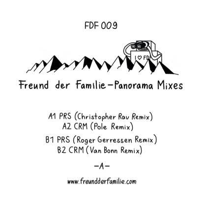 """Freund Der Familie/PANORAMA MIXES 12"""""""