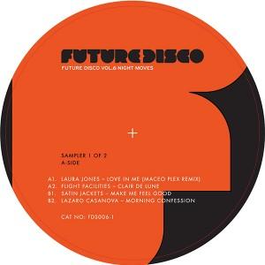 "Various/FUTURE DISCO VOL 6 SAMPLER 1 12"""
