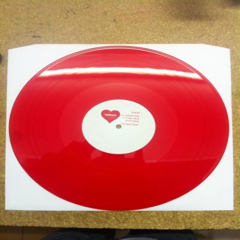 """Citizen/DIVA EP (RED VINYL) 12"""""""