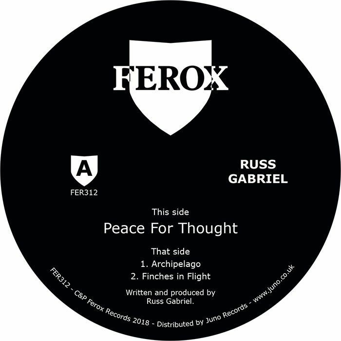 """Russ Gabriel/PEACE FOR THOUGHT 12"""""""