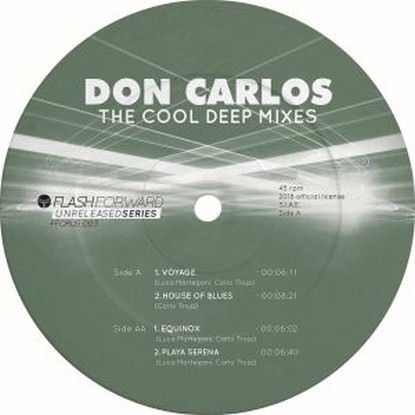 Don Carlos/THE COOL DEEP MIXES VOL 1 12""