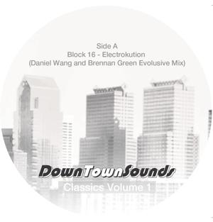 "Downtown Sounds/CLASSICS VOLUME 1 12"""