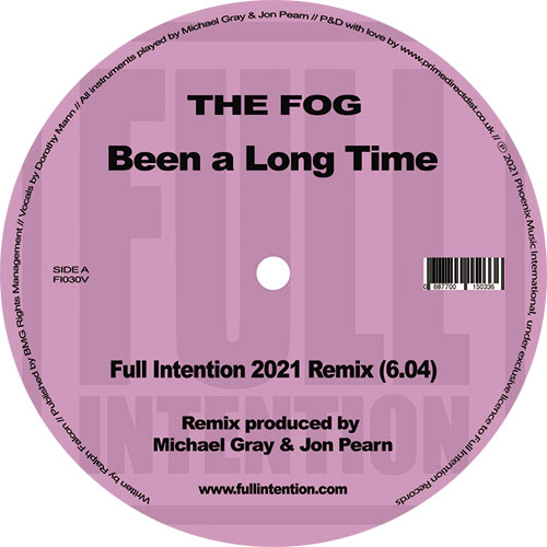 Fog/BEEN A LONG TIME (F.I. 2021 RMX) 12""