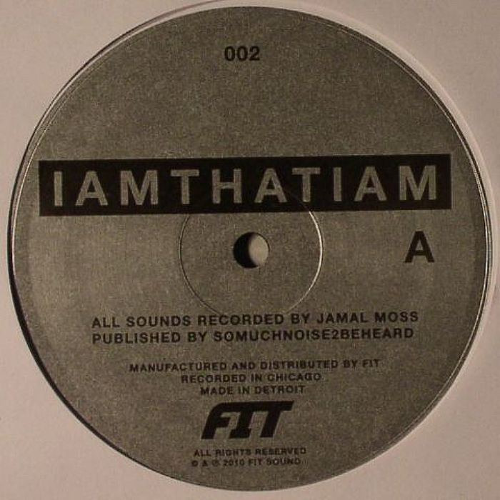IAMTHATIAM/THE INVISIBLE CHILDREN EP 12""